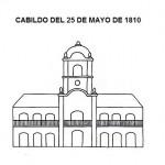 25 de Mayo de 1810 para colorear y divertirse