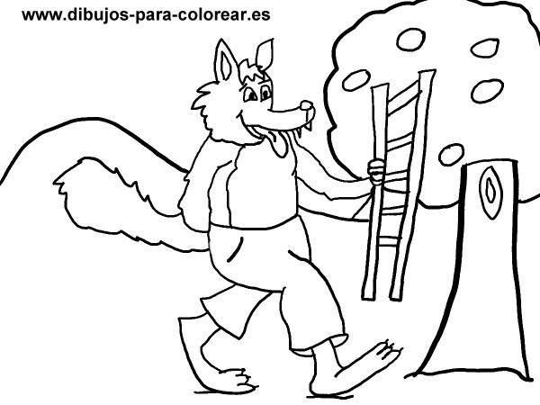Escaleras para pintar colorear im genes - Dibujos para pintar en tejas ...