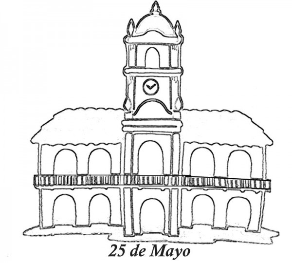 cabildo argentina 25 de mayo pintaryjugar JPG 1