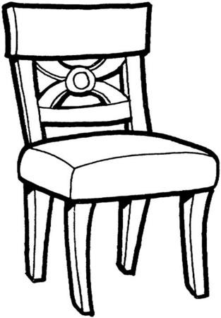 Para colorear muebles colorear im genes for Dibujos de muebles