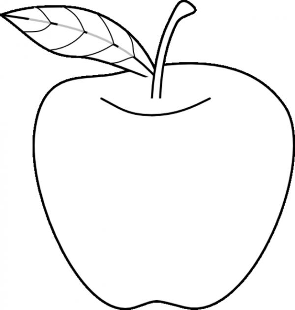 Manzana para colorear | Colorear imágenes