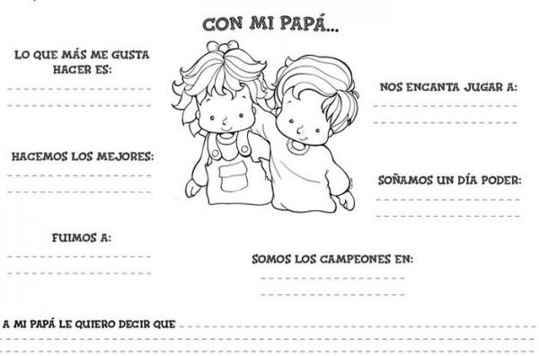 Dibujos De Corbatas Para Imprimir Y Colorear: Casi 50 Tarjetas Para Papá Para Pintar En El Día Del Padre