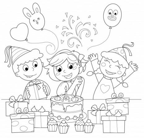 Dibujos-Para-Colorear-Cumpleaños