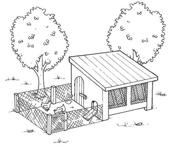 50 dibujos de granjas y animales para colorear colorear for Casa progetta una fattoria di 2 storie