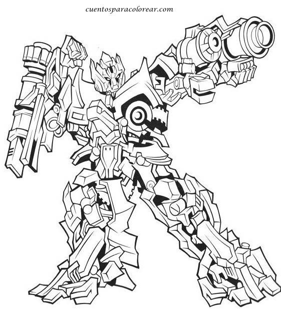 Dibujos Para Colorear Transformers 4 - Dibujos Para Dibujar