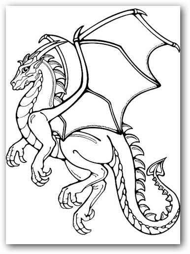 30 dibujos de dragones terrorficos para imprimir y pintar Caras