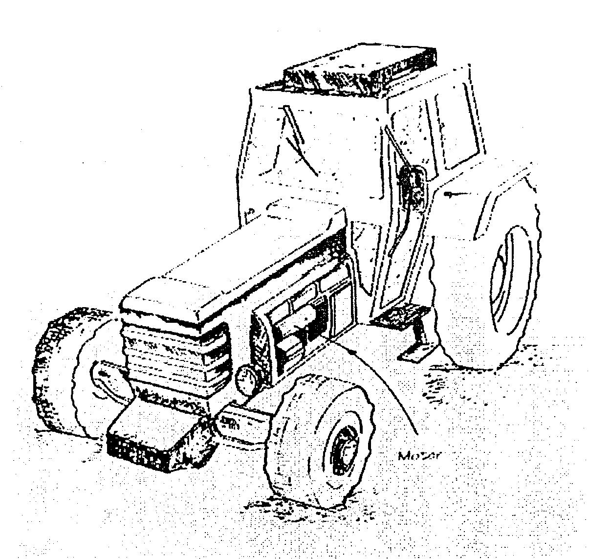 Famoso Tractor Johnny Para Colorear Bosquejo - Ideas Para Colorear ...