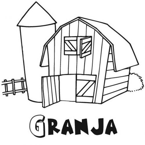 50 dibujos de granjas y animales para colorear colorear - Parador de la granja fotos ...