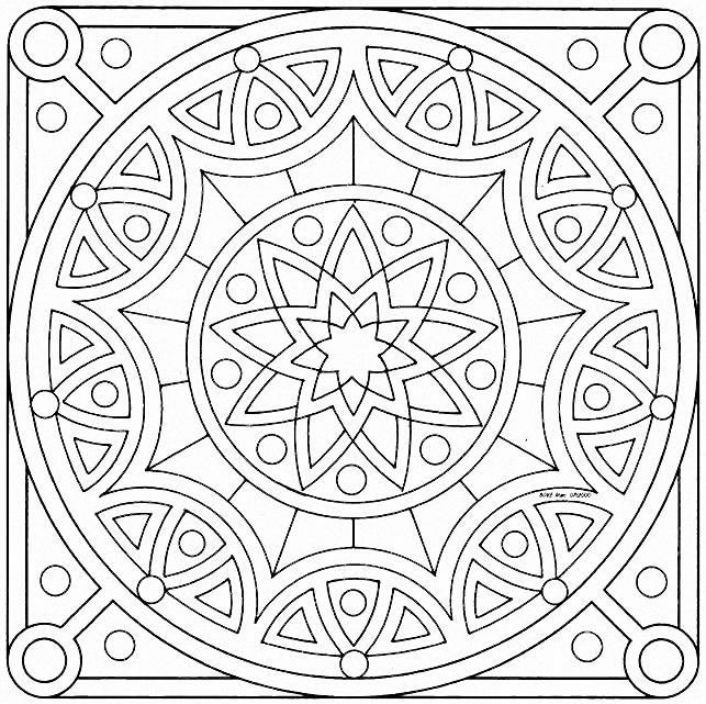 mazuras mandala coloring pages - photo#21