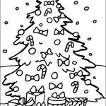 54 Dibujos de Navidad, Tarjetas , Papa Noel y Arbolitos de Navidad para colorear