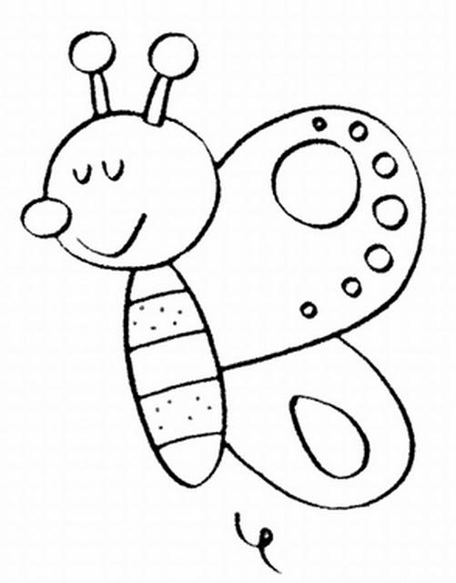 Dibujos De Mariposas De Colores Para Imprimir
