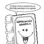 Día de la Constitución Española para pintar