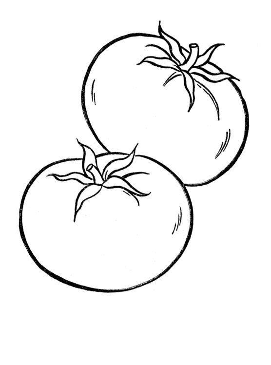 Dibujos de vegetales para imprimir y colorear: Verduras y ...