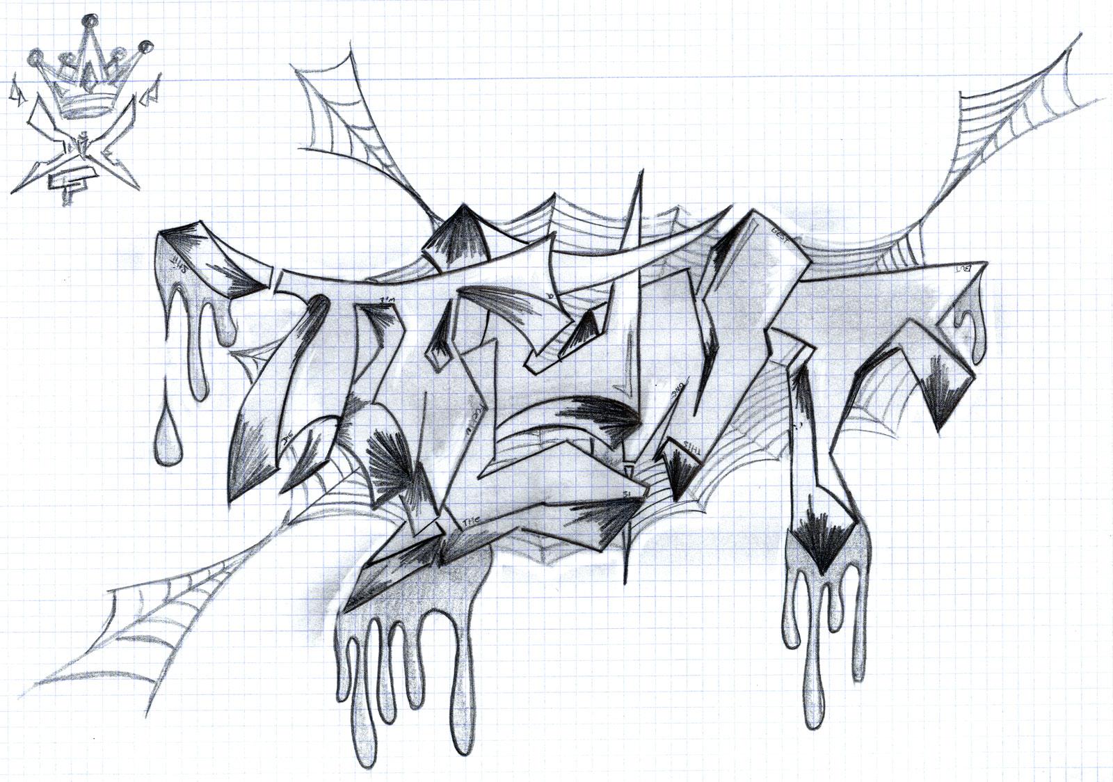 Graffitis de amor para colorear  Colorear imgenes