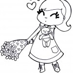 Dibujos para colorear y regalar el Día del Amor y la Amistad