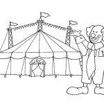 Divertidos dibujos de circo para pintar