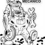 24 de febrero – Día del Mecánico para colorear