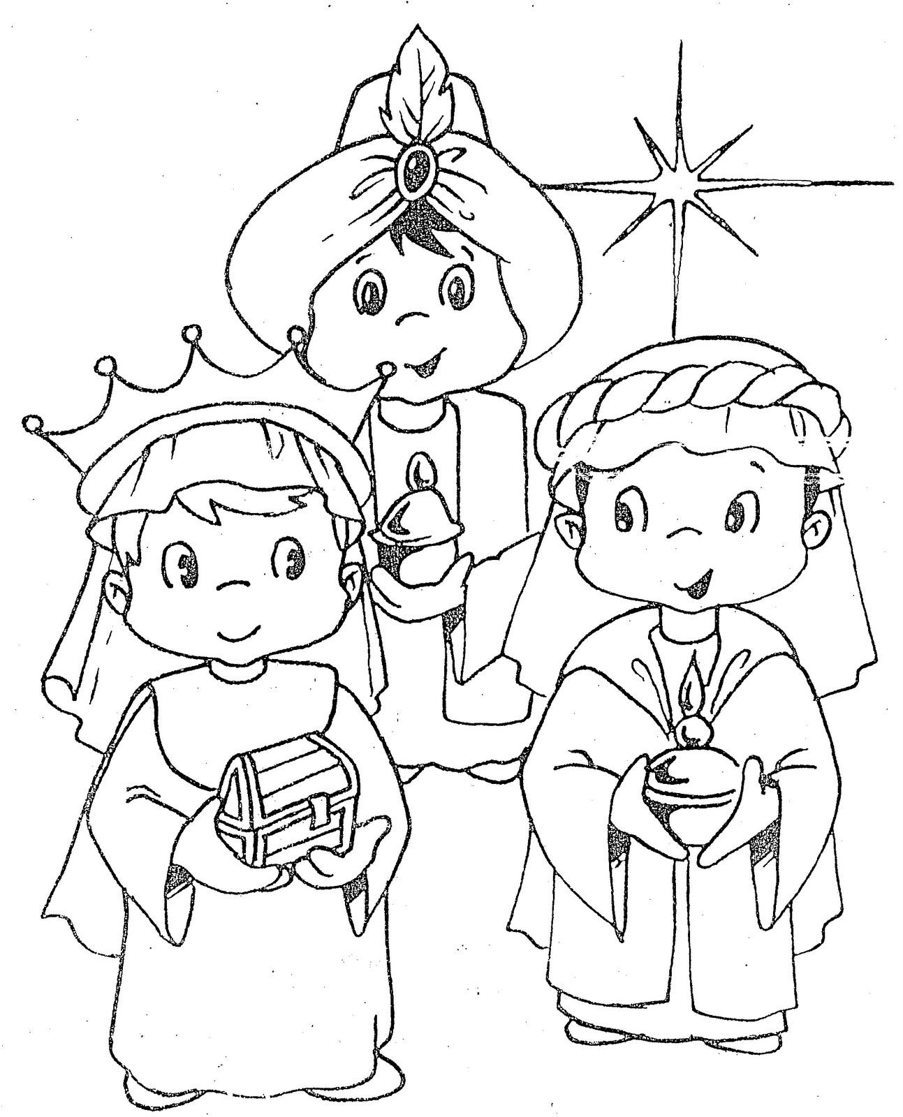 Cartas para los Reyes y Dibujos infantiles de los Reyes Magos para