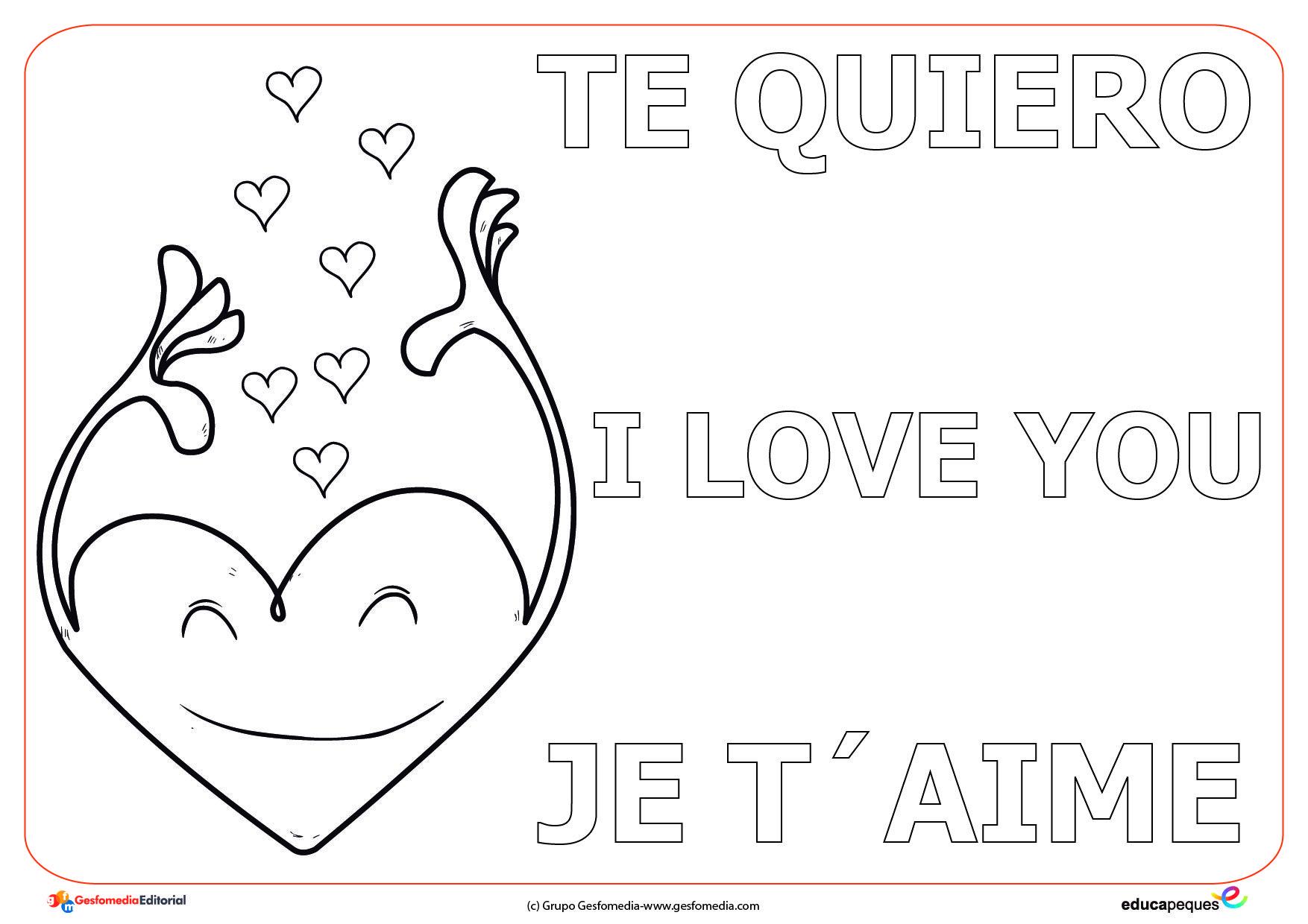 Dibujos San Fermin Para Colorear: Día De San Valentín Para