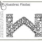 Dibujos del Día de Andalucía para pintar