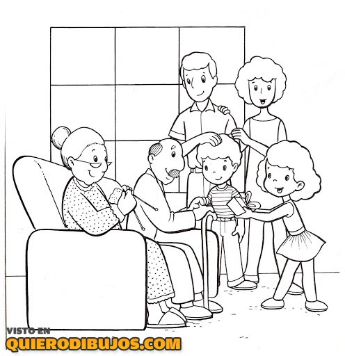 familia-completa-para-colorear