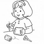 Actividades infantiles para colorear