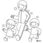 Dibujos del Día Mundial de la Actividad Física para pintar