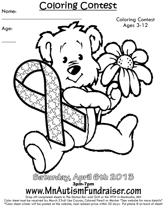 Autism Coloring Pages