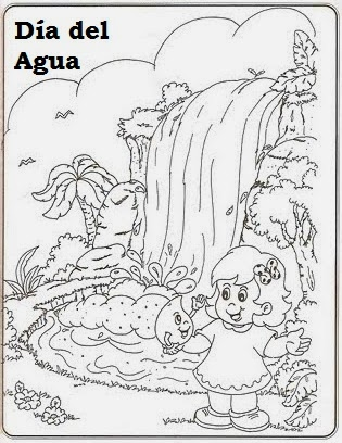 Dibujos Da Mundial del Agua 22 de marzo  Dibujos para colorear