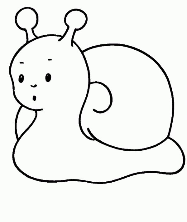 Dibujos para ni os peque os f ciles para pintar colorear - Dibujos infantiles de bebes ...