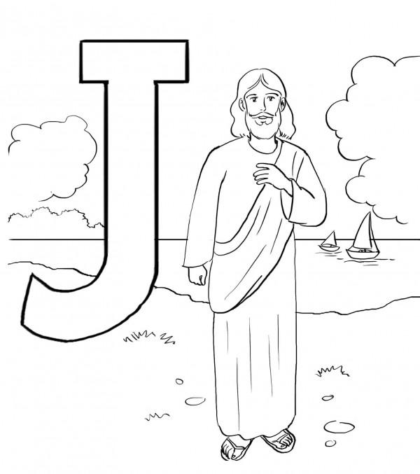 Dibujos de Jesucristo para imprimir y pintar  Colorear imgenes