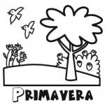 Dibujos de Primavera para imprimir y colorear