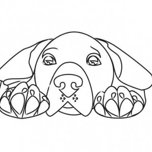 seeing eye dog coloring pages - photo#5