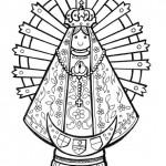 Dibujos del Día de Nuestra Señora de Luján para pintar
