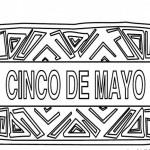 Dibujos del Cinco de Mayo en México para colorear