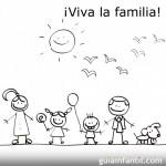 Dibujos del Día de la Familia para colorear