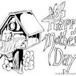 Happy Mother´s Day – Dibujos para imprimir y colorear en el Día de la Madre
