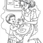 Dibujos del Día de los Jardines de Infantes y las Maestras Jardineras para pintar