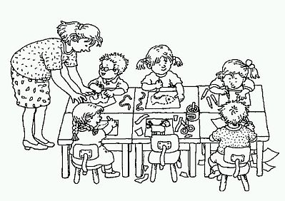 Dibujos del d a de los jardines de infantes y las maestras for Actividades para jardin de infantes para imprimir
