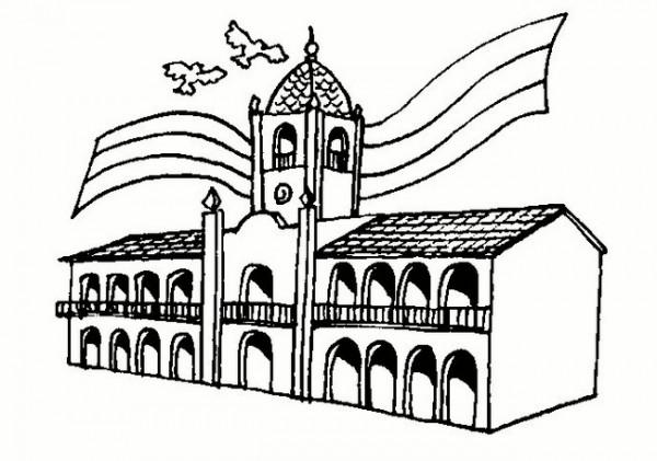 Muchos dibujos para pintar del Cabildo de Buenos Aires y ...