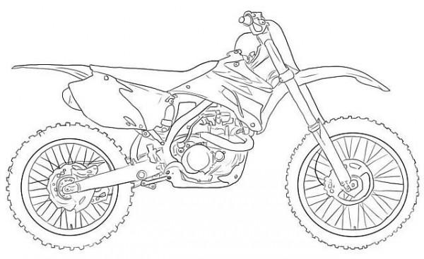 Imágenes de espectaculares motos para descargar y pintar ...