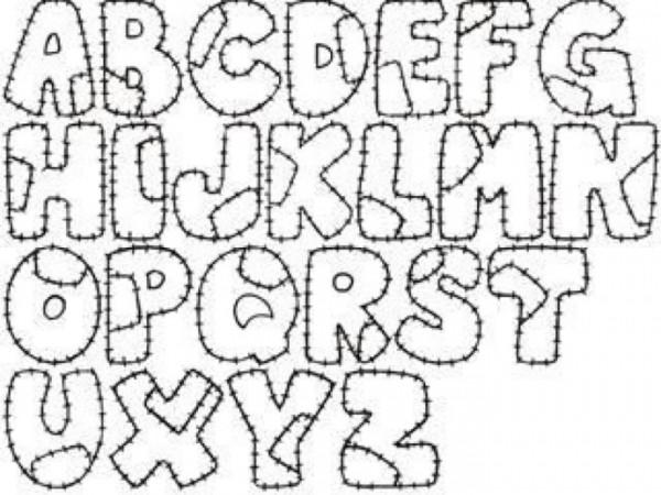 Plantillas de abecedarios para colorear  Colorear imgenes