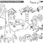Dibujos del Día Mundial de la Biodiversidad para colorear