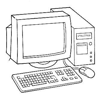 Dibujos de computadoras para imprimir y pintar  Colorear ...