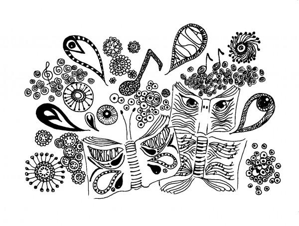 40 Imágenes Abstractas Para Descargar E Imprimir: Dibujos Abstractos Para Imprimir Y Pintar