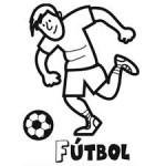 Pintando dibujos del Día del Futbolista en Argentina