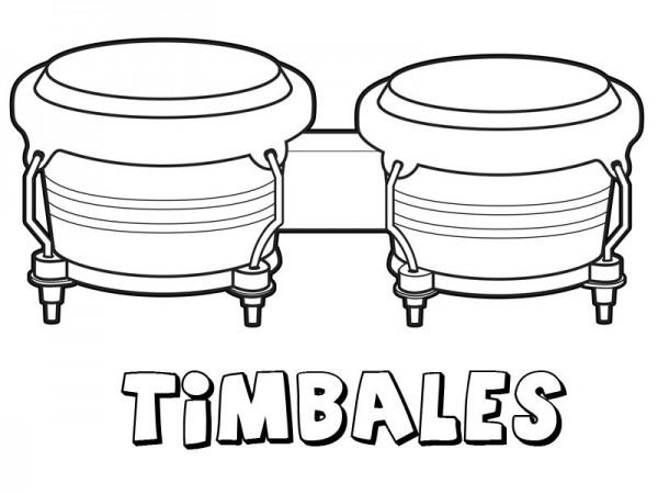 Dibujos De Instrumentos Musicales Para Imprimir Y Colorear: Instrumentos Musicales – Dibujos Para Colorear