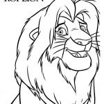 Dibujos del Rey León para imprimir y pintar