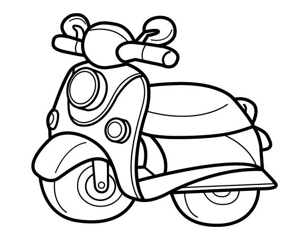 Imgenes de espectaculares motos para descargar y pintar