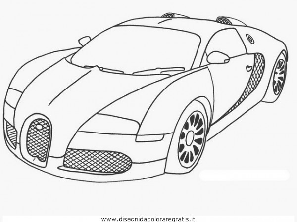 Dibujos de autos para imprimir y colorear  Colorear imágenes